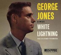 Cover George Jones - White Lightning
