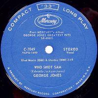 Cover George Jones - Who Shot Sam