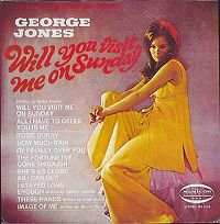 Cover George Jones - Will You Visit Me On Sunday