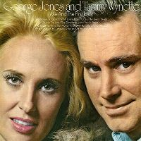 Cover George Jones and Tammy Wynette - Me And The First Lady