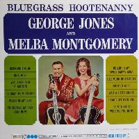 Cover George Jones & Melba Montgomery - Bluegrass Hootenanny