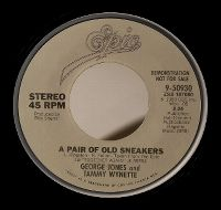 Cover George Jones & Tammy Wynette - A Pair Of Old Sneakers