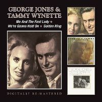 Cover George Jones & Tammy Wynette - Me And The First Lady / We're Gonna Hold On / Golden Ring