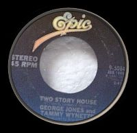 Cover George Jones & Tammy Wynette - Two Story House