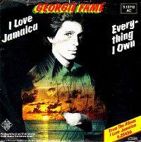 Cover Georgie Fame - I Love Jamaica