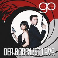 Cover Géraldine Olivier - Der Boden ist Lava
