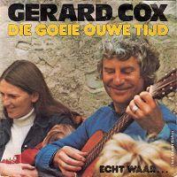 Cover Gerard Cox - Die goeie ouwe tijd