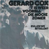 Cover Gerard Cox - 't Is weer voorbij, die mooie zomer