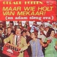 Cover Gerard Hoeben - Maar wie holt van mekaar! (en Adam sleug Eva)