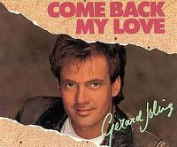 Cover Gerard Joling - Come Back My Love