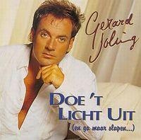 Cover Gerard Joling - Doe 't licht uit (en ga maar slapen...)