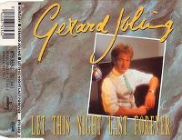 Cover Gerard Joling - Let This Night Last Forever