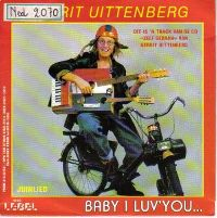 Cover Gerrit Uittenberg - Baby I Luv' You...