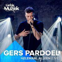 Cover Gers Pardoel - Helemaal alleen (Live)