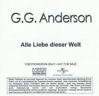 Cover G.G. Anderson - Alle Liebe dieser Welt