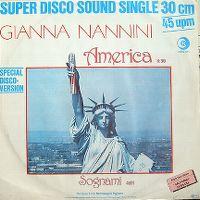 Cover Gianna Nannini - America