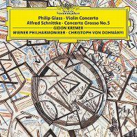 Cover Gidon Kremer / Wiener Philharmoniker / Christoph von Dohnányi - Philip Glass: Violon Concerto - Alfred Schnittke: Concerto grosso No. 5