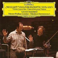 Cover Gidon Kremer / Wiener Philharmoniker / Nikolaus Harnoncourt - Mozart: Violinkonzerte Nos. 4&5