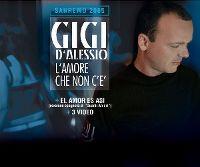 Cover Gigi D'Alessio - L'amore che non c'e'