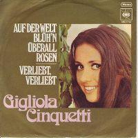 Cover Gigliola Cinquetti - Auf der Welt blüh'n überall Rosen