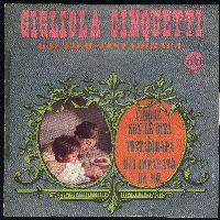 Cover Gigliola Cinquetti - Cinque son le dita