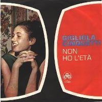 Cover Gigliola Cinquetti - Non ho l'età