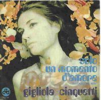 Cover Gigliola Cinquetti - Solo un momento d'amore