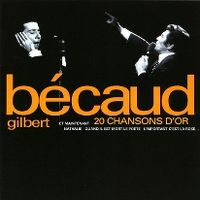 Cover Gilbert Bécaud - 20 chansons d'or