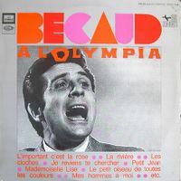 Cover Gilbert Bécaud - Bécaud à l'Olympia 1967
