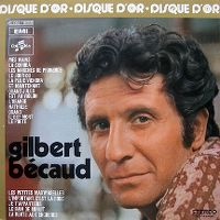Cover Gilbert Bécaud - Disque d'or