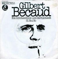 Cover Gilbert Bécaud - Ein bißchen Glück und Zärtlichkeit