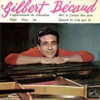 Cover Gilbert Bécaud - L'enterrement de Cornélius