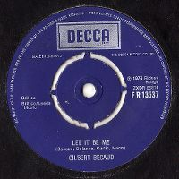 Cover Gilbert Bécaud - Let It Be Me