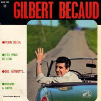 Cover Gilbert Bécaud - Plein soleil