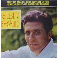 Cover Gilbert Bécaud - Salut les copains