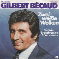 Cover Gilbert Bécaud - Zwei weiße Wolken