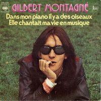 Cover Gilbert Montagné - Dans mon piano il y a des oiseaux