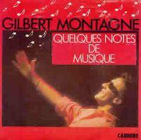 Cover Gilbert Montagné - Quelques notes de musique