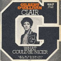 Cover Gilbert O'Sullivan - Clair