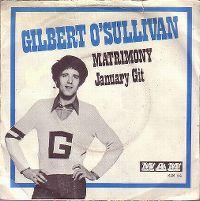 Cover Gilbert O'Sullivan - Matrimony