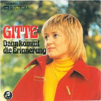 Cover Gitte - Dann kommt die Erinnerung
