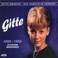 Cover Gitte - Den komplette Popboks