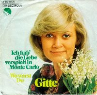 Cover Gitte - Ich hab' die Liebe verspielt in Monte Carlo
