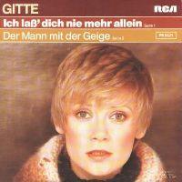 Cover Gitte - Ich lass' dich nie mehr allein