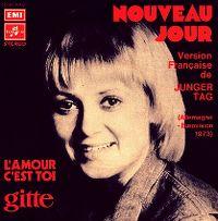 Cover Gitte - Nouveau jour