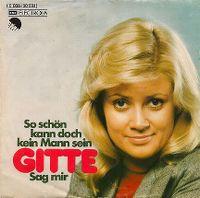 Cover Gitte - So schön kann doch kein Mann sein