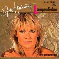 Cover Gitte Hænning - Lampenfieber