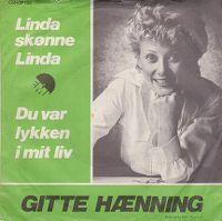 Cover Gitte Hænning - Linda skønne Linda