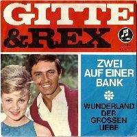 Cover Gitte & Rex - Zwei auf einer Bank