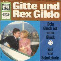 Cover Gitte & Rex Gildo - Dein Glück ist mein Glück